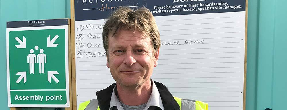 Steve Randall appointed as Site Manager for Church Farm, Rode