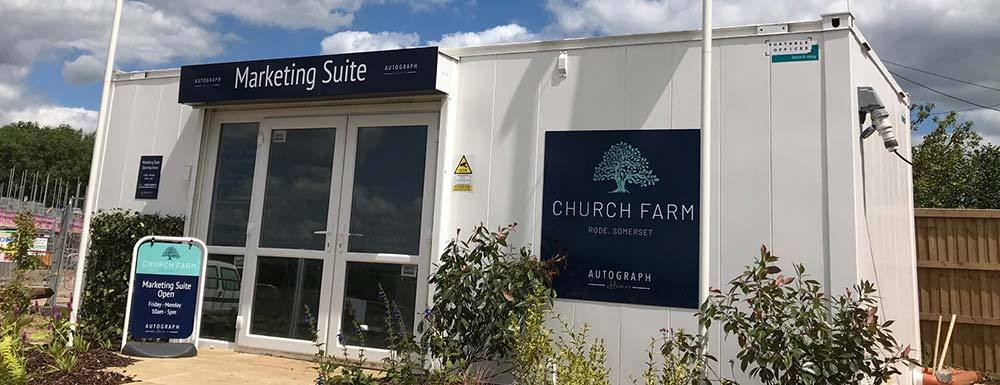 New Marketing Suite Opens at Church Farm