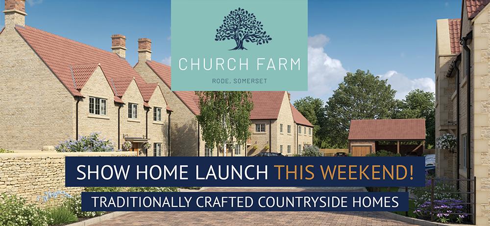 This Weekend! Show Home Launch at Church Farm